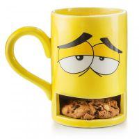 """Keksbecher """"Mug Monster"""" gelb"""