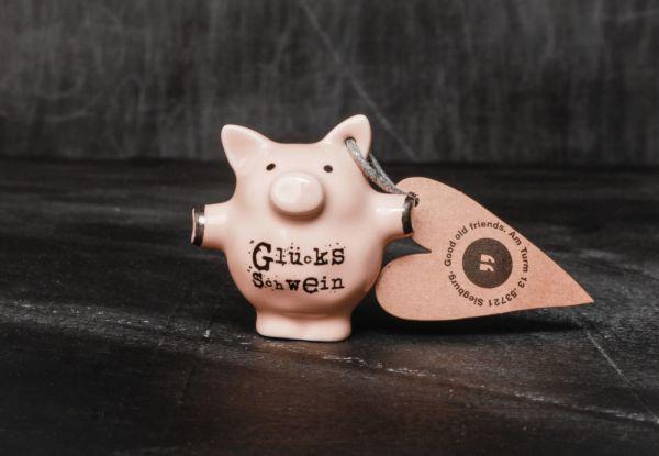 """Mini Schweine """"Glücksschwein"""""""