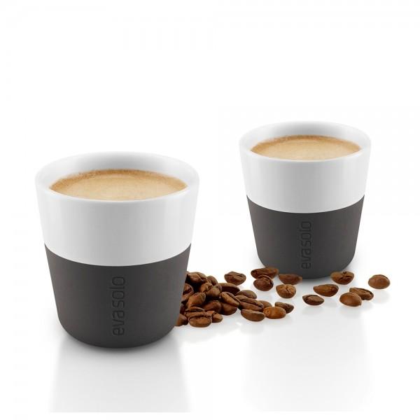 """2 Espresso-Becher """"Black"""""""