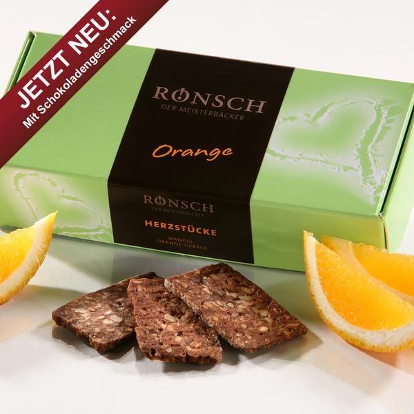 Mandel-Orange-Macadamia - Gebäck 100 g