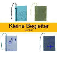 Kleine Begleiter - Notizbücher - im 4er Set