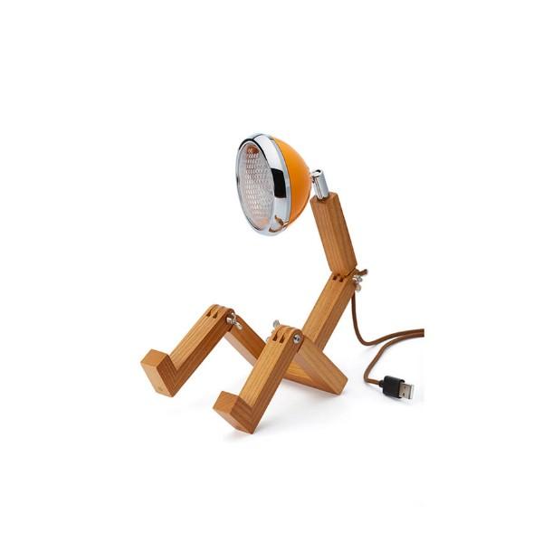 Mr. Wattson Mini Tischleuchte USB Mclaren Orange