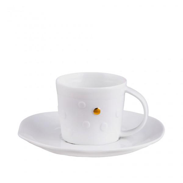 Mix & Match. Kleine Tasse mit Unterteller
