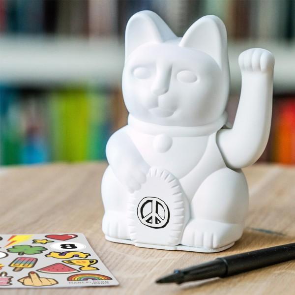 """Winkekatze """"Iconic Cat Weiß"""""""