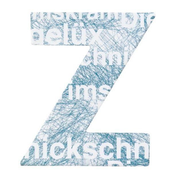 """Paper & Poetry ABC Schachtel """"Z"""""""