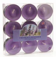 Teelicht 9er, French Lavender