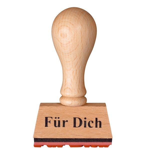"""Stempel """"Für Dich"""" 5er Set"""