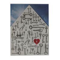 """Hauslichttüte """"Herz mit Schlüsseln"""""""
