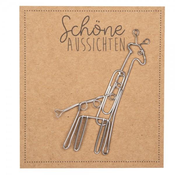 """Tierfreunde """"Schöme Aussicht"""", Giraffe"""