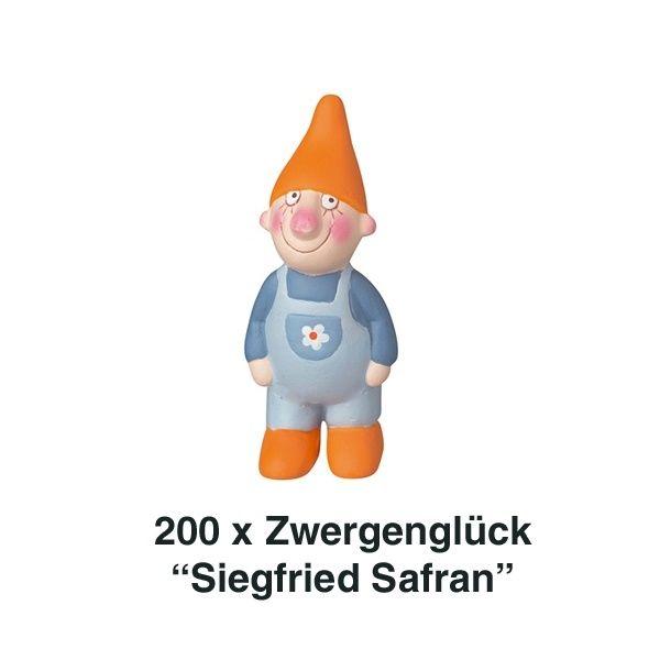 Räder, Zwergenglück - Siegfried Safran Mini 7cm 200er Set
