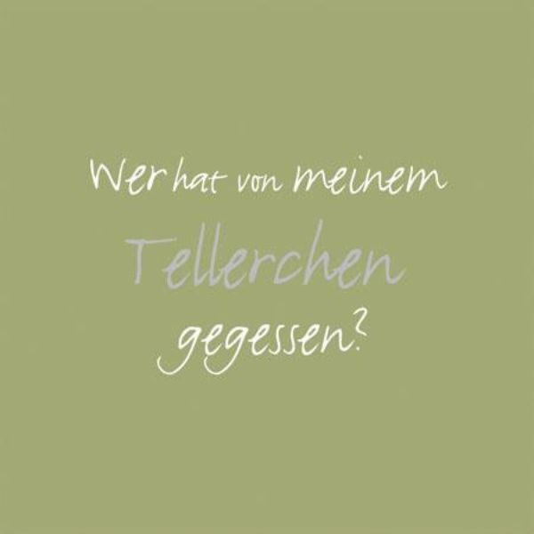 "Serviettenkollektion ""Tellerchen"""