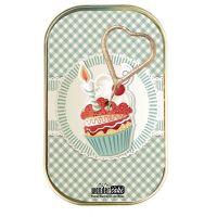 "Kuchen mit Wunderkerze ""Happy Birthday"" Motiv: Muffin mit Kerze"