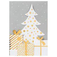 """Weihnachtsfaltkarte """"Baum"""""""