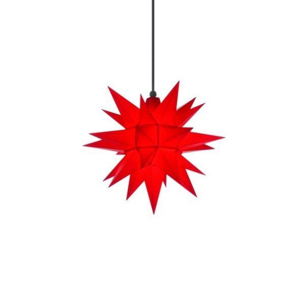 Herrnhuter Stern für Außen, A4 Rot 40 cm