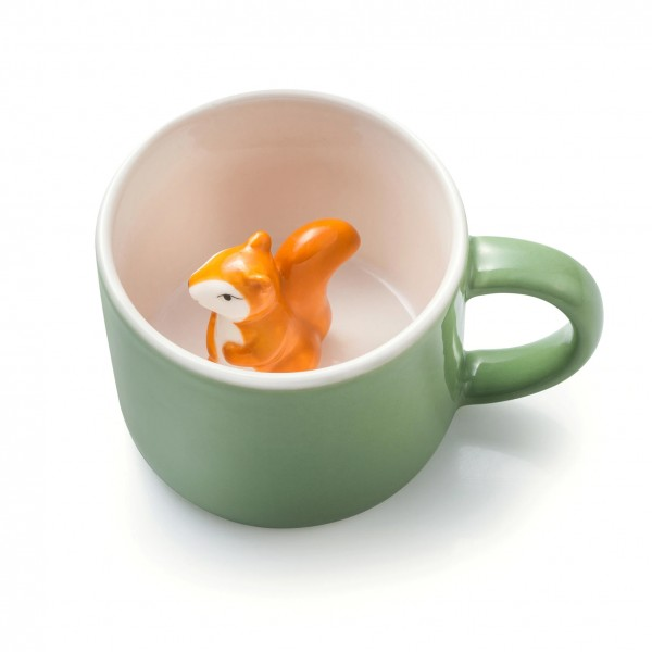 Animal Mug Simon - Tasse mit Eichhörnchen