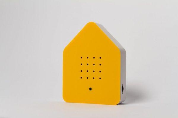 Zwitscherbox Klassik -gelb-