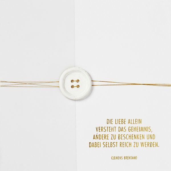 """Traumkarte """"Die Liebe allein versteht …"""""""