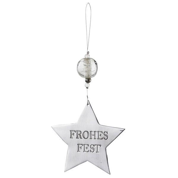 "Spiegelornamente ""Frohes Fest"""
