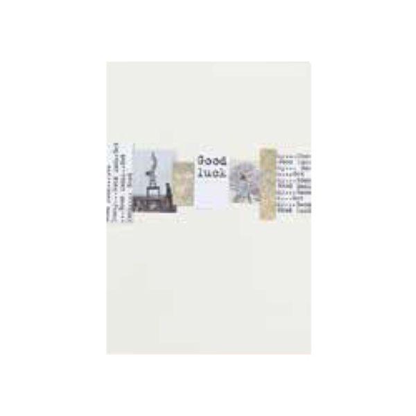 """Papierschnipsel Karte """"Get Lucky"""""""