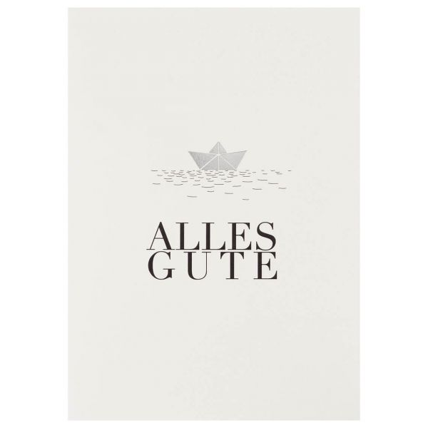 "Kleiner Gruß Karte ""Alles Gute"""