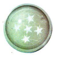 Traumkugel (Groß) Motiv 5 Sterne