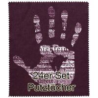 """Putztuch """"Hand"""" 24er Set"""