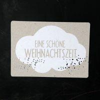 """Winter Postkarte """"Schöne Weihnachtszeit"""""""
