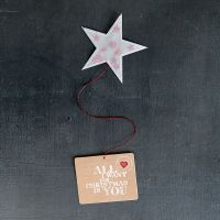 """X-mas Sternenpost """"All I want for Christmas is you"""""""