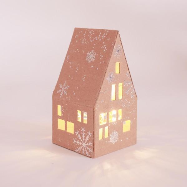 """Kleines Winter Lichthaus """"Schneeflocken"""""""
