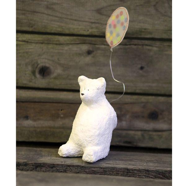Kleine Freunde - Polarbär - Konfettiballon