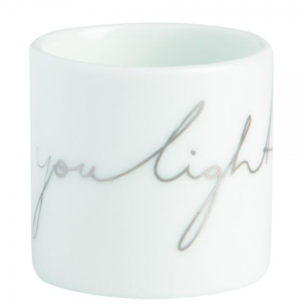 "Teelichthalter Helle Freude ""light up"""