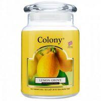 Duftkerze im Glas, Jar Large Lemon Grove 135 h