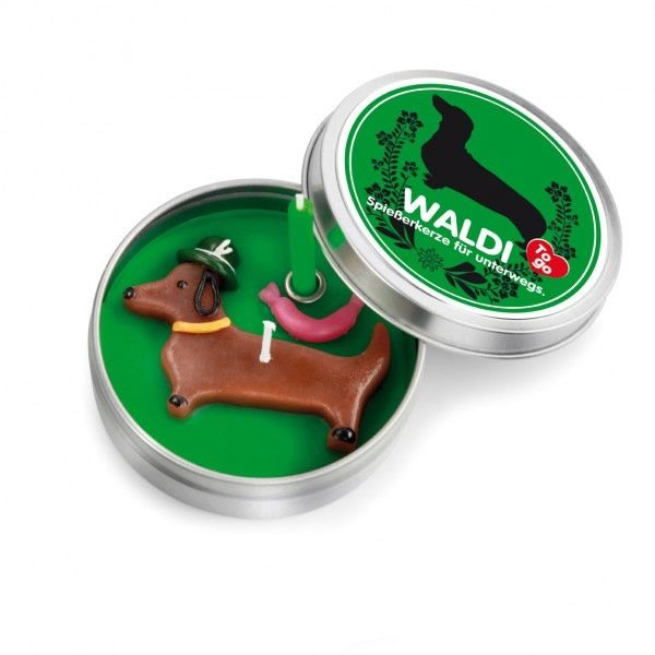 "CANDLE TO GO ""Waldi"" 20er Set"