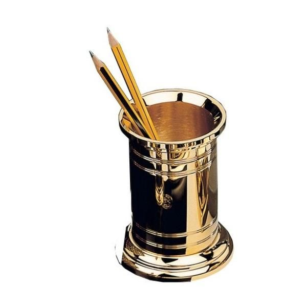 Bleistiftköcher - 23-Karat vergoldet