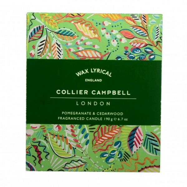Collier Campbell Pomegranate & Cedarwood Glass Candle