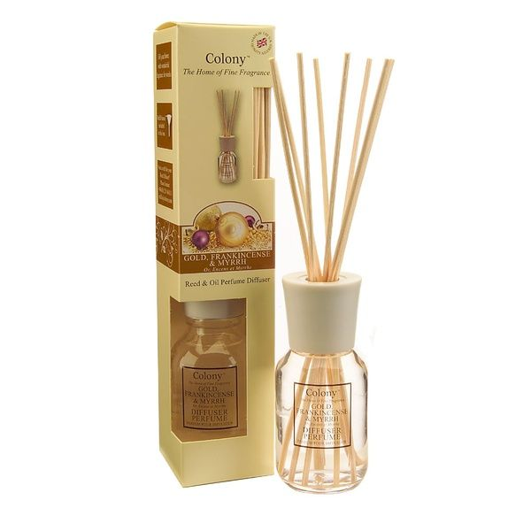 Reed Diffuser - Gold Weihrauch Myhre 120ml