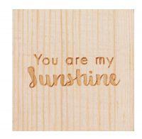 """Glückskästchen """"You are my sunshine"""""""