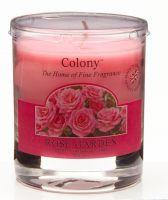 Duftkerze im Glas, klein - Rose Garden (Rosengarten) 35 h