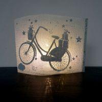 """Winter Lichtpost """"Fahrrad"""""""