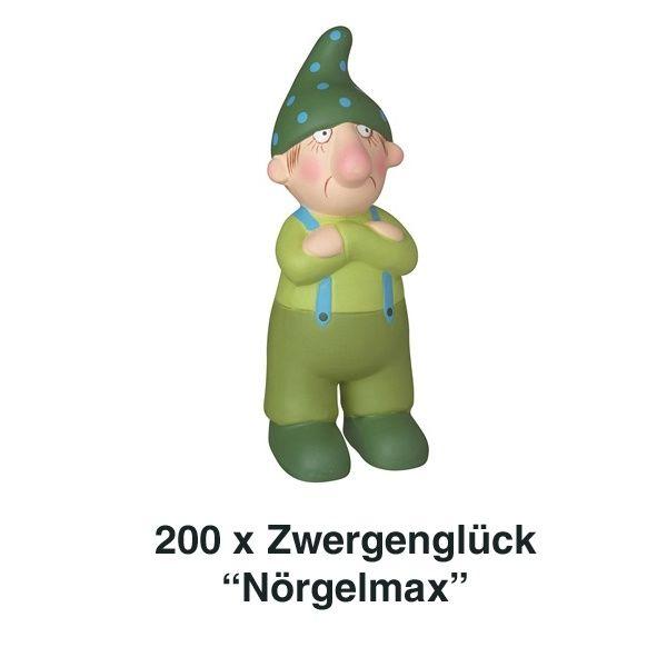 Räder, Zwergenglück - Nörgelmax 12 cm 200er Set