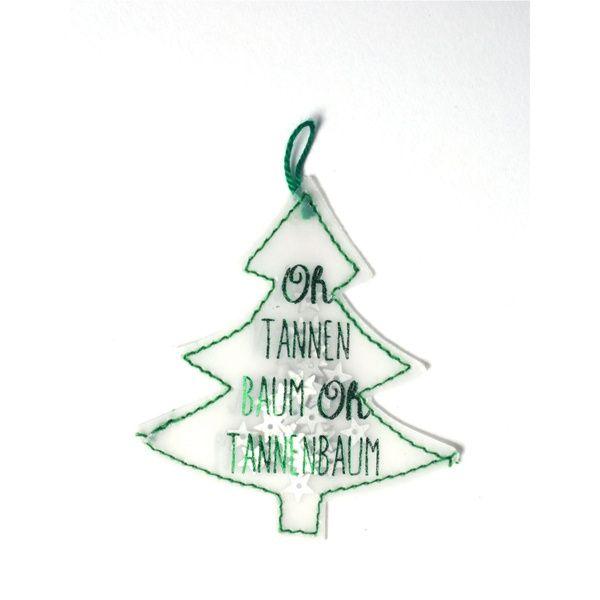 Konfetti Baum - Oh Tannenbaum