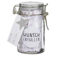 Herzstücke Geschenkglas Wunscherfüller