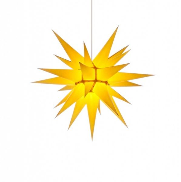 Weihnachtsstern für Innen, Gelb 60 cm