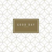 """Cocktailservietten """"Good day"""""""