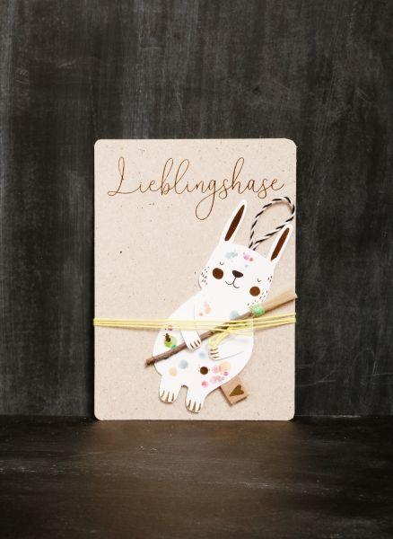 Lieblingshasen - Pinsel