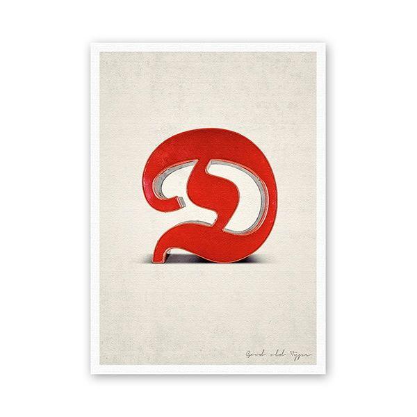 """Postkarte - """"D"""""""