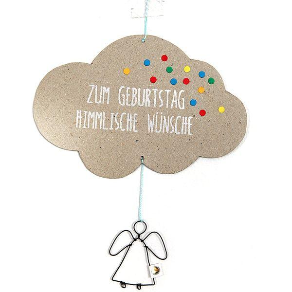 """Engelspost - """"Zum Geburtstag himmlische Wünsche"""""""