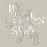 """Serviettenkollektion """"Buchstabensuppe"""""""