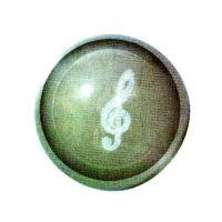 Traumkugel (Klein)  Motiv Notenschlüssel