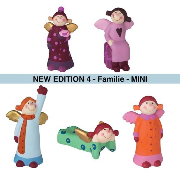 Himmlische Schwestern Mini New Edition 4 - Familie - 5er Set